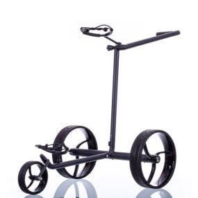Elektro Golf Trolley walker S schwarz, Lithium Akku,...
