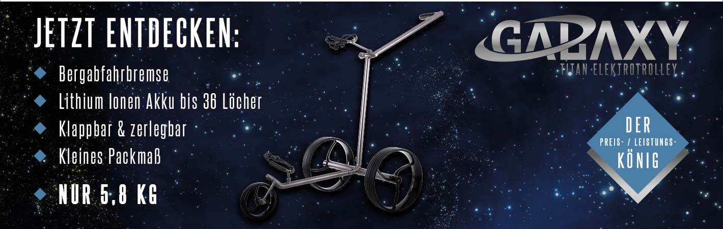 GALAXY Titan Elektro Golf Trolley