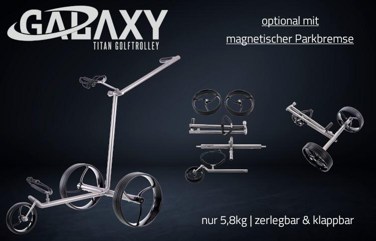 GALAXY Titan Elektro Golftrolley